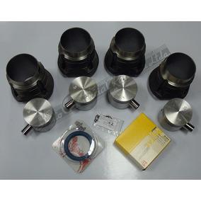 Kit De Motor Vw Fusca 1200 Mahle Metal Leve + Retentor Sabó
