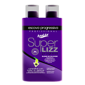 Analéa Super Lizz Escova Progressiva 2 X 500ml