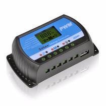 Controlador Regulador Carga Inteligente 30a Panel Solar Pwm