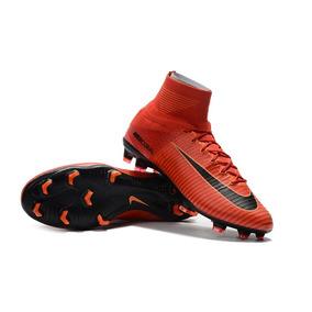 Vermelha Nº 37 Chuteira Nike Vapor V Fg Azul Preta Prata - Chuteiras ... ff87973a2f043