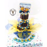 Tortas De Cuchuflí Altas Personalizadas (desde 80 Cuch.)