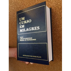 Um Curso Em Milagres - Livro Novo - Capa Dura