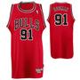 Camisa Chicago Bulls Oficial Adidas Importada # 91 Rodman