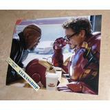 Foto Firmada Por Robert Downey Jr Certificada Iron Man