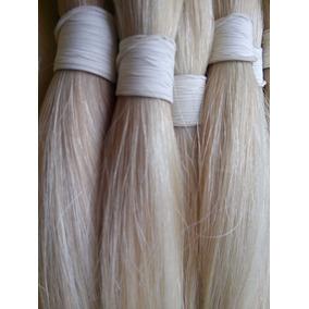 Cabelo Natural Humano Mega Hair Liso Loiro Claro 50g 60cm