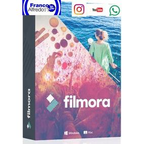 Programa Editor De Vídeos Filmora 8.5 2018 64bits Pc Windows