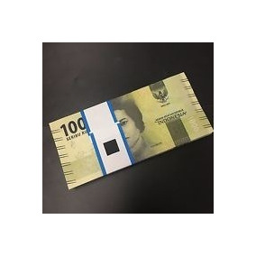 Indonesia 1000 Rupiah 2016 2017 1/2 Centena Cédulas C O L