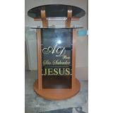 Púlpitos Em Madeira E Vidro Valor Promocional Leia O Nauncio