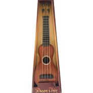 Guitarra Infantil Juguete Simil Madera 38cm Especial Niños