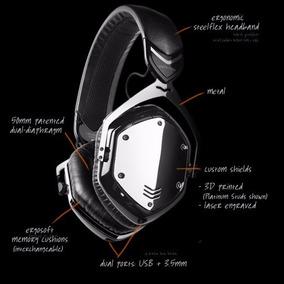 Headphone V-moda Crossfade Wireless, No Brasil, Gun Metal