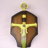 Espada Rei Salomão Estrela De Davi Medieval Frete Grátis