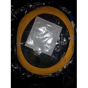 Patch Cord Fibra Optica, Monomodo Lc-lc/lc-fc 5,8,20,25 Mtrs