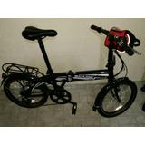 Bicicleta Eletrica Dobravel Aro 20 250 W 7 Marchas Shimano