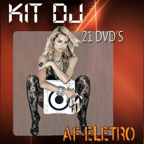Kit Dj - Sets Completos - 22 Dvds Atualizado Diariamente