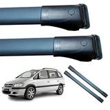 Barras Porta Equipaje Esp Aluminio Negras Chevrolet Zafira