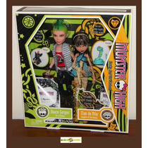 Monster High Deuce Gordon E Cleo De Nile - 2009 Mattel