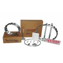 01 Kit Concertina Cerca Protetor Perimetral Aço Galvanizado