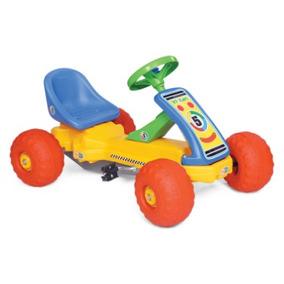 karting pedal cadena juguete plastico vegui asiento regulabl
