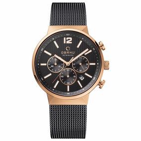 Reloj Obaku V180gcvbmb Original Para Hombre Y Envío Gratis