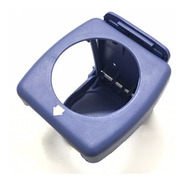 Porta Copo Dobrável Retrátil Azul P/ Barco Lancha