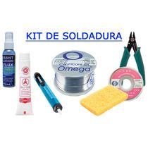 Kit / Combo Soldadura Estándar 60/40 227 Gr Omega Centricore