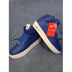 Oferta Zapatillas Nike Force Azules De Mujer Botitas Baratas