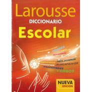 Diccionario Escolar (rojo) Larousse - Por Aique
