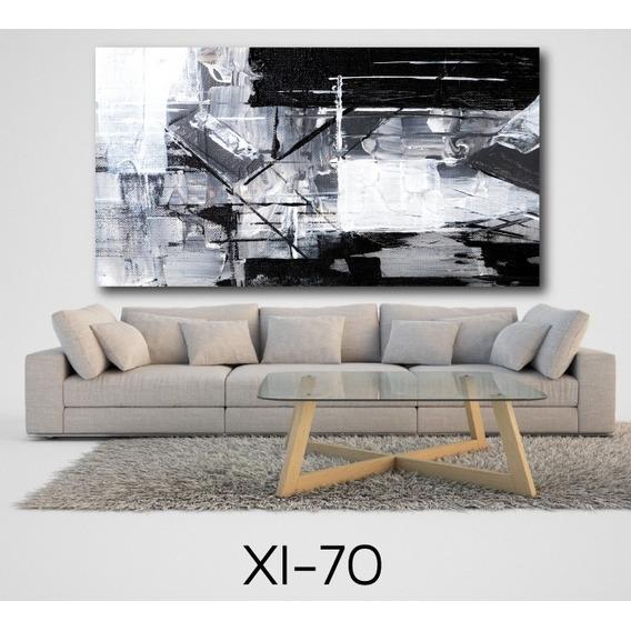 Cuadros Modernos Abstractos Murales  130x70 Canvas