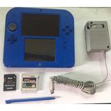Consola Nintendo 2ds Azul, Pes 2011 3ds