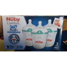 Kit 3 Mamadeira Nuby Comfort Plus