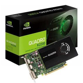 Tarjeta De Video Nvidia Pny Quadro K2200 3d 4gb Mod:vcqk2200