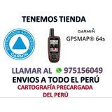 Gps Garmin Map 64s Conec/ Inalámbrico - Nuevos Garantía