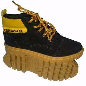 Tênis Caterpillar Infantil Bota Botinha Colegial