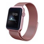 Pulseira Milanese Para Apple Watch 38/40mm - Rosê