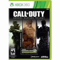 Call Of Duty Trilogia Cod 4 + Mw2 + Mw3 360 Modern Warfare