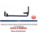 Tubo Agua Bloco L200 Sport Hpe Outdoor 2.5 2003/2012