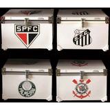 Caixa Termica Blindada Times Futebol 90 L Cooler Cerveja
