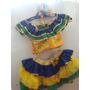 Fantasia De Carnaval Infantil Brasileirinha Carmem Miranda