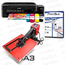 Prensa Plana A3 + Impressora A4