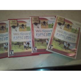 Wii Sport Varios Juegos D Wii Caja Cambiada Carton Mojado