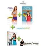 Kit Recetas De Sascha Fitness + Soy Saludable + Los Secretos