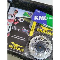 Kit Relação Completo Retentor Dafra Next 250 Durag/kmc