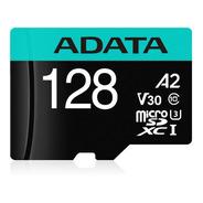 Memoria Microsd Adata 128gb Premier Pro V30s Adaptador Sd
