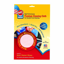 Toalha Especial De Microfibra Cleaning Cloth Branco Abro