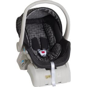 Bebê Conforto Cocoon 8180 Galzerano Preto Cinza Com Base