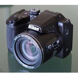 Nikon Colpix B500 Con Estuche Y Accesorios