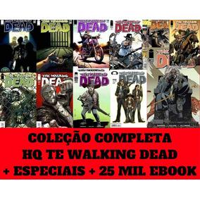 Hq The Walking Dead Coleção Completa + Especiais + Brindes