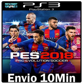 Pes 2018   Pro Evolution Soccer 18   Psn Ps3   Compra Segura