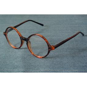 80faf190b Óculos De Sol Redondo Drop Me Ébano Marrom. Rio Grande do Sul · Armação  Fina Oculos Redondo 47 Mm Unissex