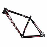 Quadro Vicinitech 27,5 T - Seven Preto Verm Alum Tam 19 Bike